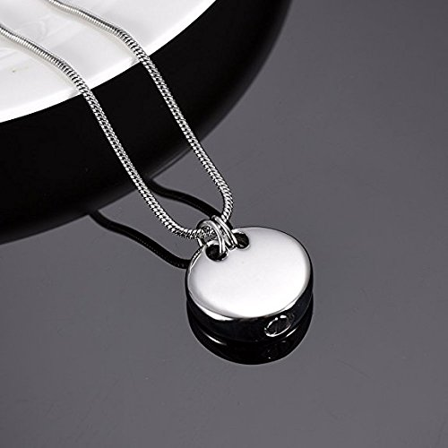 Pet Memorial Jewelry Cremation Urn Necklace -Sleeping Dog Keepsake Pendant Jewelry For Ashes by EternityMemory (Image #3)