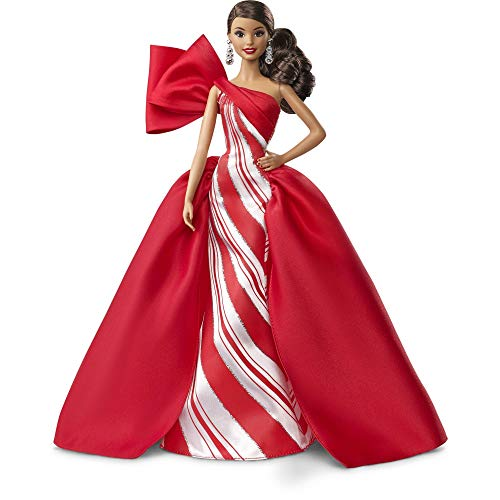 Barbie 2019 Holiday Doll, Brunette