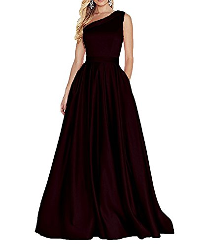Leader Kleid burgunderfarben Linie Damen A of Beauty the xnw4qfvZp