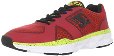 DC Men's Unilite Trainer,Athletic Red/White,7.5 M US