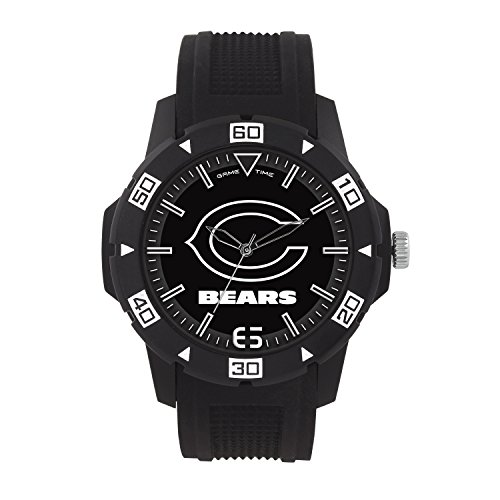 (NFL Chicago Bears Mens Automatic Series Wrist Watch, Black, One)