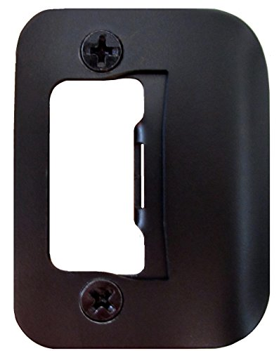 Gator Door Latch Restorer - Strike Plate (Oil Rubbed Bronze) ()
