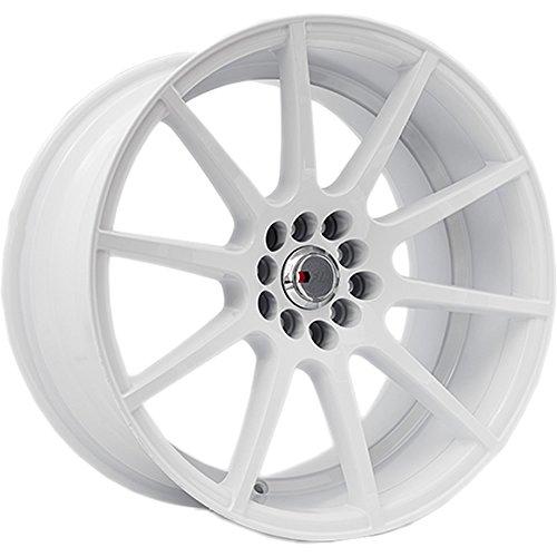 5x100 white rims - 6