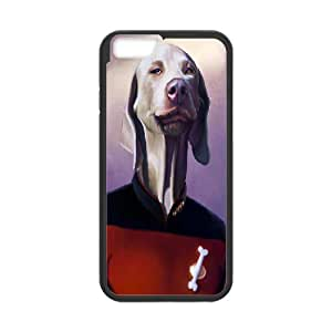 Case for IPhone 6 Plus, Star Trek Dog Case for IPhone 6 Plus, Naza Black
