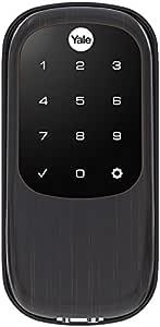 Yale Real Living Key Free Touchscreen Deadbolt(YRD240-NR-619), YRD246HA20BP