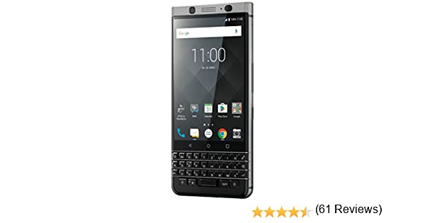 BlackBerry KEYone 4G 32GB Negro, Plata: Amazon.es: Electrónica