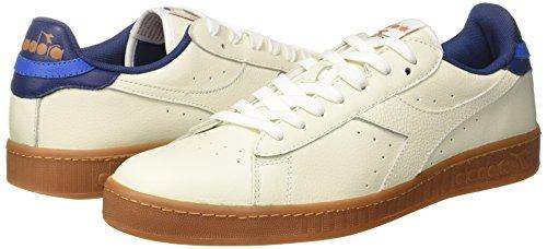 Game Estate Uomo L blu Bianco Diadora bianco Sneaker Low 6WZn41a4