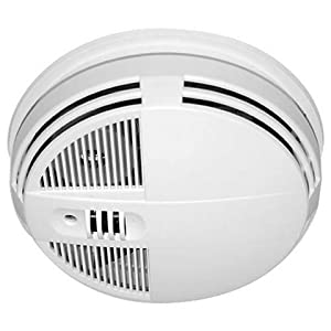 Spy-MAX Zone Guard WiFi Smoke Detector Night Vision Hidden Surveillance Camera (Side View) - Internet Remote Live View + Record + Playback