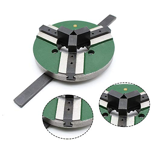 TFCFL 3 Jaw Self-centering Welding Table Chuck 8 Inch 200mm Reversible WP-200 US Warehouses from TFCFL