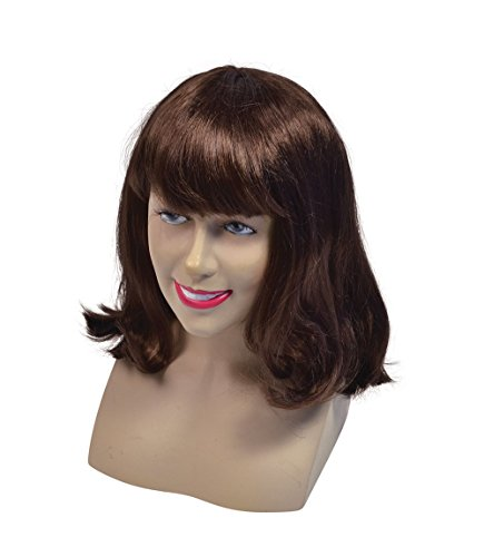 Cheerleader Wig. Brown Best