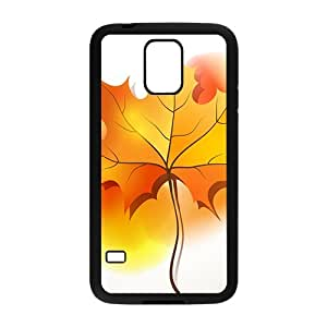 The Beautiful Maple leaf Hight Quality Plastic Case for Samsung Galaxy S5