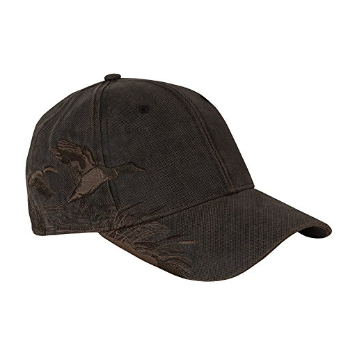 (Dri Duck 3200 Wildlife Series Brushed Cotton Cap, Mallard & Waxy Canvas)