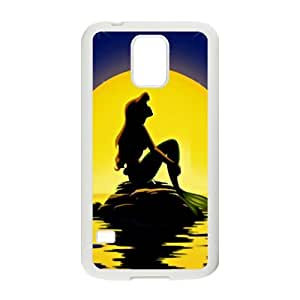 Beautiful sea yellow moon Mermaid Cell Phone Case for Samsung Galaxy S5