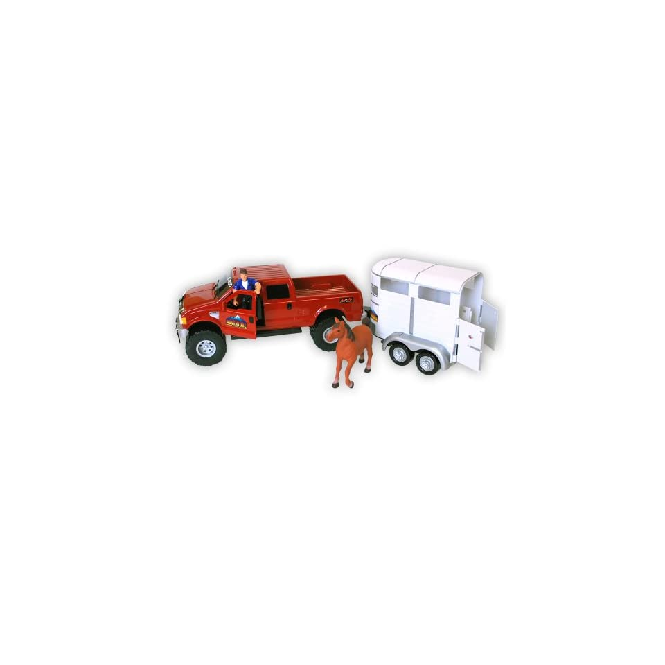 Ford F 250 Truck And Horse Trailer Set  Toys & Games