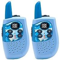 Série Héros' Talkie-walkie compact Cobra HM230 avec une portée jusqu'à 3 km, 8 canaux, fonction d'économie d'énergie (set de 2)