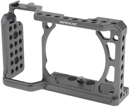 KESOTO アルミ合金 カメラケージ ソニーA6000 A6300 A6500カメラ対応 スタビライザー 撮影安定性機材