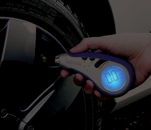 Measurement Limited Michelin MN-12279 Digital Programmable Tire Gauge with Light by Measurement Limited (Image #3)