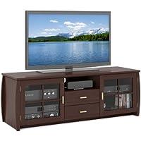 Sonax WB-1609 Washington 59-Inch Wood Veneer TV/Component Bench