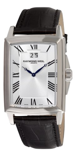 Raymond Weil Men's 5596-STC-00650 Tradition Silver Roman Numerals Dial Watch