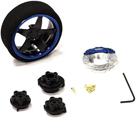 Integy RC Model Hop-ups C23823BLUEBLACK Evolution VIII Steering