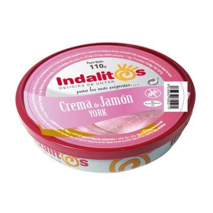 Indalitos York Slaapcrème, dienblad met 5 potjes, 110 g