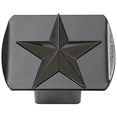 """Metal Trailer Hitch Cover Fits 2"""" Receivers New"""