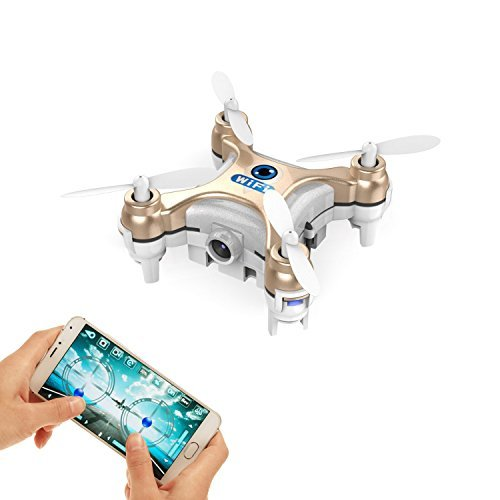 Smallest Fpv Drone With Camera Live Video Ios Android App Phone Wifi Remote Control Mini Quadcopter Spy Drone Pocket Drone For Apple Iphone Ipad Sumsung Htc