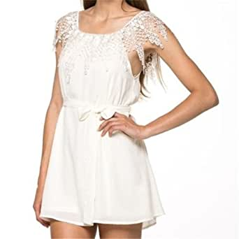 sexy women summer casual lace sleeveless party evening