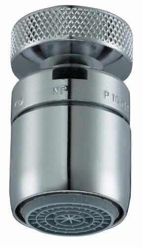 Perlator 11005798 Wassersparstrahler SLC mit Kugelgelenk mit Reduzierung, M22xM24, verchromt