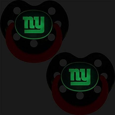 Amazon.com: NFL brilla en la oscuridad – Chupetes para bebé ...