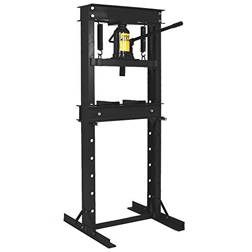 Hydraulic Ton Shop 20 Press (Wimmer 20 Ton Shop Press Floor H-Frame Press Plates Hydraulic Equipment Jack Stand 29
