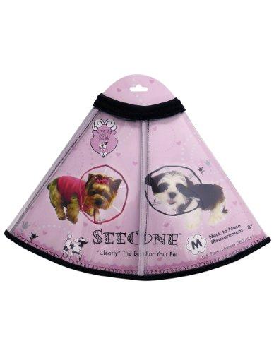 Viva La Dog Spa SeeCone for Dogs, Medium, Black