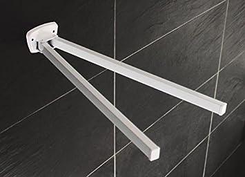 retro metall handtuchhalter 2 arme handtuchstange handtuch halter ... - Küche Handtuchhalter