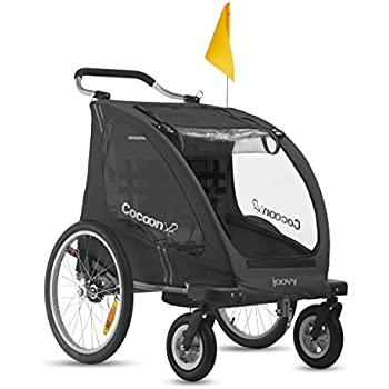 Amazon Com Joovy Cocoonx2 Enclosed Double Stroller Black