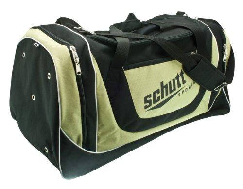 Schutt Varsity einzelnen Player Tasche, Schwarz/Gold
