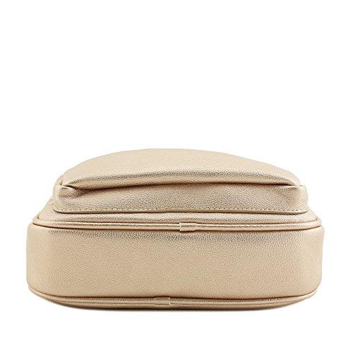 Crossbody Mini Top Handle Bag Gold Purse Tote Rose xHT7gT1
