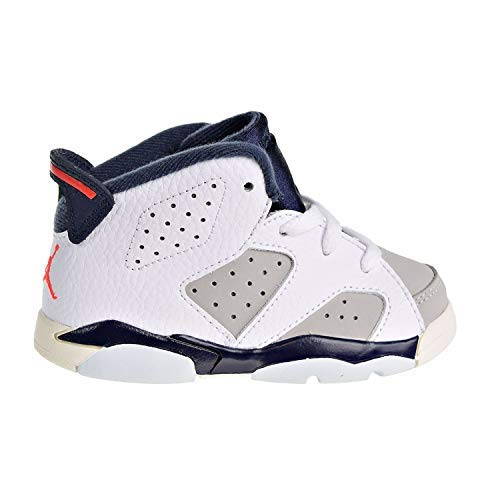 Nike Toddler Jordan 6 Retro Tinker White/Infrared 23-Neutral Grey (10 M US Toddler) (Jordan Retro Infrared 23)