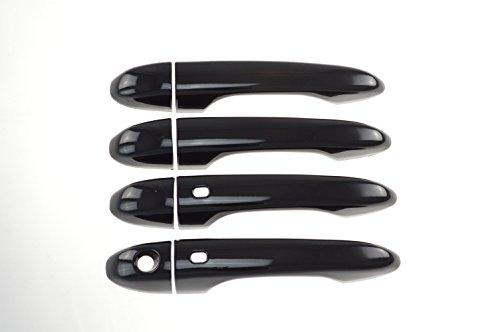 Dart Door Handles - Fits 14-17 JEEP CHEROKEE /DODGE DART - Gloss Black Door Handle Covers