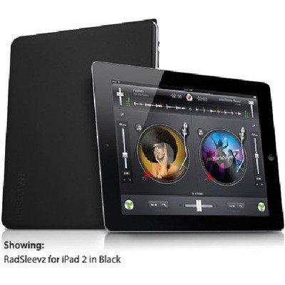RadTech Case, RadSleevz Form-Fitting Sleeve, iPad 2/3/4, - Black (16008) by RadTech