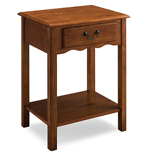 Leick 9067-MED Favorite Finds Night Stand (Traditional Wood Drawer)