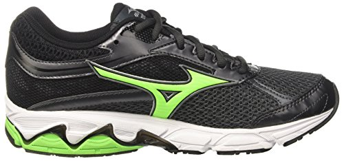 Gecko Mizuno Shadow White Equate Wave Dark Green Zapatos Hombre de Gimnasia Blu qpqrv