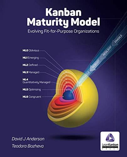 Kanban Maturity Model: Evolving Fit-For-Purpose Organizations