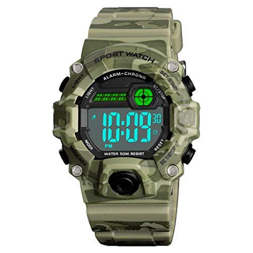 IW.HLMF Relojes Digitales para niños Deporte al Aire Libre ...