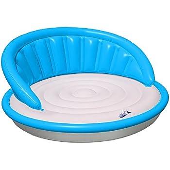 Designer Series Floating Couch, Aqua