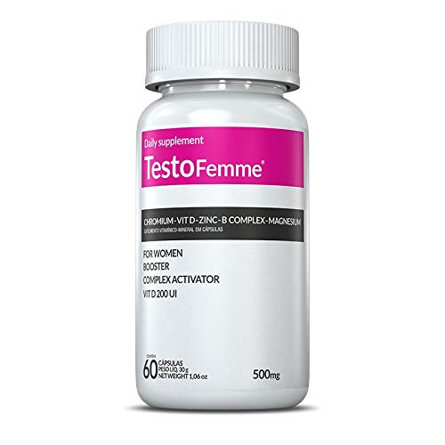 TestoFemme - 60 Cápsulas - Inove Nutrition, Inove Nutrition