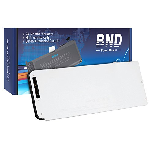 Bnd Brand New Laptop Battery For Apple A1278 A1280 Macbook 13 Inch Series  Mb466ch A   Mb466d A Aluminum Unibody  2008 Version    12 Months Warranty  6 Cell 4800Mah 52Wh