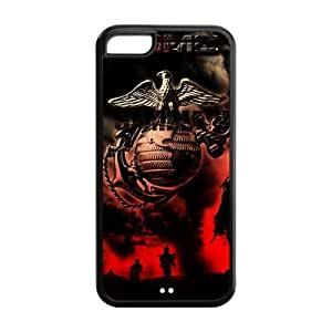 Customize High Quality US Marine Corp Back Cover Case for iphone 5C
