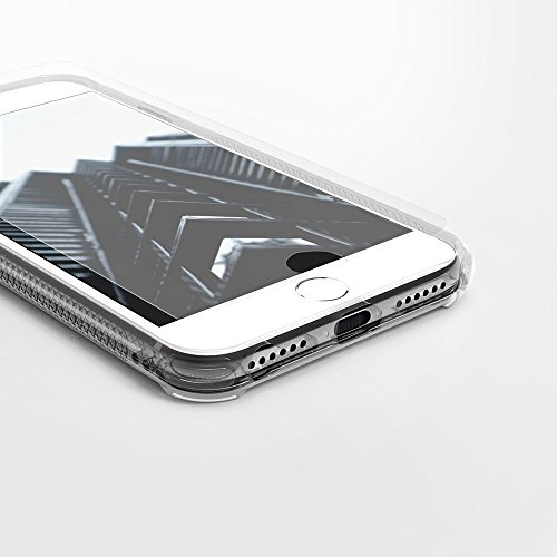 iPhone 7 Case, Zizo [PIK Series] w/ FREE [iPhone 7 Screen Protector] Crystal Clear [Anti-Slip Grip] Resilient TPU Bumper - Apple iPhone 7