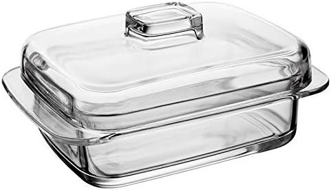 Un Beurrier Transparent en verre de grande qualit/é livr/é dans une bo/îte Passe au lave-vaisselle