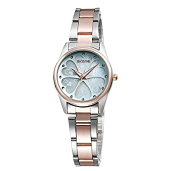ca94f5c6af1 Buy Fashion   Casual Watches SKONE Women Japan Quartz Watch Full Steel  Strap Analog Display Dress Wristwatches relogio feminino Online at Low  Prices in ...